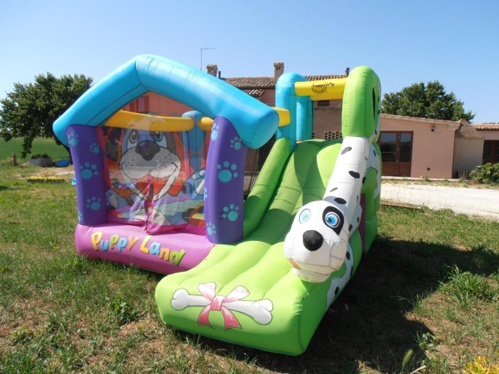 Noleggio gonfiabile per bambini Umbria Perugia Cucciolandia