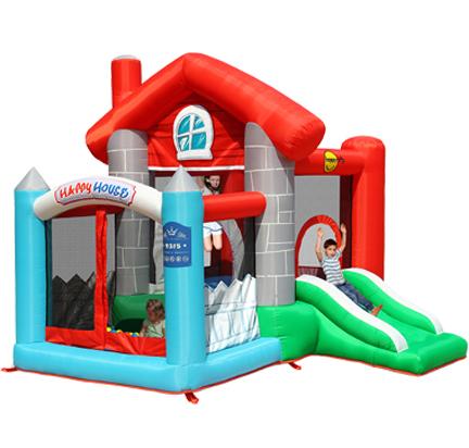 Gonfiabile happy casa maracaibo animazione - Casa gonfiabile per bambini ...