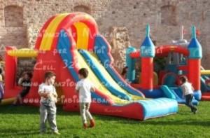 Noleggio gonfiabili per bambini affitto giochi gonfiabili Marche Umbria gonfiabili ancona